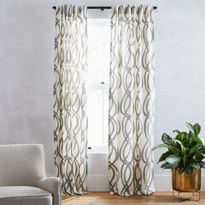 West Elm Cotton Curtains (Set of 2)